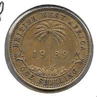 *britisch West Africa 1 Shilling  1939  Km 23 Xf - Colonies
