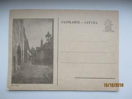 LATVIA , VEC- RIGA   , OLD POSTCARD , O - Lettonie