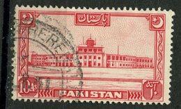 Pakistan 1949 10as Airport Issue #53 - Pakistan