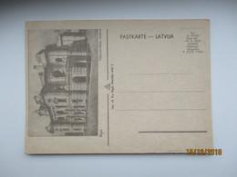 LATVIA , RIGA  NACIONALAIS TEATRIS , OLD POSTCARD , O - Lettonie