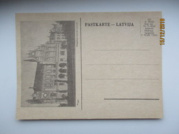 LATVIA , RIGA  PILSETAS KOMERTCSKOLA , OLD POSTCARD , O - Lettonie