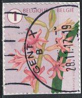 Belgique 2016 Oblitéré Used Fleur Flower Hyacinth Jacinthe Véritable SU - Belgique