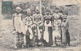 Guinée  Française / Ethnic - Belle Oblitération - 98 - Jeunes Filles Après La Circoncision - Französisch-Guinea
