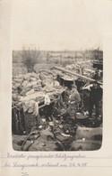 Langemark , FOTOKAART , Soldat Allemand Dans Les  Tranchées Prés De Langemark (Poelkapelle,,Poelcapelle)22-4-1915 - Guerra 1914-18