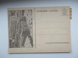 LATVIA , RIGA  RAILWAY STATION , OLD POSTCARD , O - Latvia