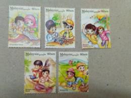 Malaysia Stamp Week Malaysian Lifestyles II 2018 Kite Music Hobby Car Play Set Stamp MNH - Malaysia (1964-...)