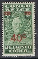 CONGO BELGE N°162 N* - Belgisch-Kongo