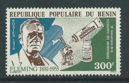 Bénin  N° 410 X  50ème Anniversaire De La Découverte Des Ntibiotiques Par Fleming, Trace De Charnière Sinon TB - Bénin – Dahomey (1960-...)