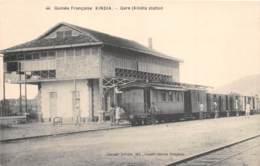 Guinée  Française / Topo - 139 - Gare De Kindia - Französisch-Guinea