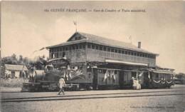 Guinée  Française / Topo - 155 - Gare De Conakry Et Train Ministériel - French Guinea