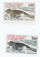 VP8L2 TAAF FSAT Antarctique Neufs°° MNH  Phoque Crabier 107/108 1984 - French Southern And Antarctic Territories (TAAF)