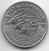 *cameroon 100 Francs 1966 Km 14 Unc - Cameroon