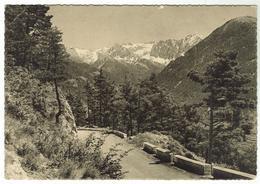 La Colmiane / St-Dalmas / Valdeblore : Le Col St Martin, En Vésubie - Bon état -  Circulée 1940 - Autres Communes