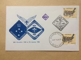 AUSTRALIA 1982 Cover - 13th Australian Scout Jamboree - Collingwood Park Ipswich - Amberley Queensland Postmark - 1980-89 Elizabeth II