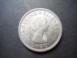 MO2    2 Shillings 1967 - Elizabeth II - 1902-1971 : Post-Victorian Coins