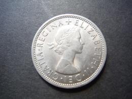 MO2    2 Shillings 1967 - Elizabeth II - 1902-1971 : Monnaies Post-Victoriennes