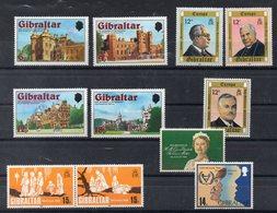 GIBRALTAR  Lot De  Timbres Neufs ** Vers 1980  ( Ref 1048J )   Séries Complètes - Gibraltar