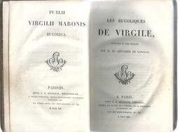 VIRGILE LES BUCOLIQUES 1819 3ème édition Paris - Livres, BD, Revues