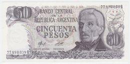 Argentina P 301 B - 50 Pesos 1976 1978 - AUNC - Argentina