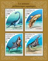 GUINEA 2018 - Water Prehistorics. Official Issue - Préhistoriques