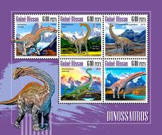 GUINEA BISSAU 2018 - Dinosaurs. Official Issue - Préhistoriques