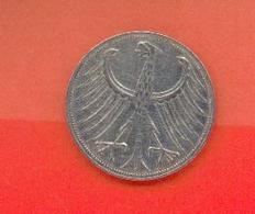 ALLEMAGNE - BUNDESREPUBLIEK : 5 MARK 1951 F - [ 6] 1949-1990 : GDR - German Dem. Rep.