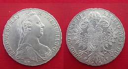ITALIA 1 Tallero Di Convenzione 1780 Maria Di Teresa Colonia Italiana  KM# 2 - Colonies