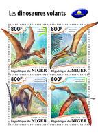 NIGER 2018 - Pterosaurs. Official Issue - Prehistorisch