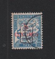 Faux Maroc N° 18 Port Payé 5 C Taxe Duval Oblitéré - Maroc (1891-1956)