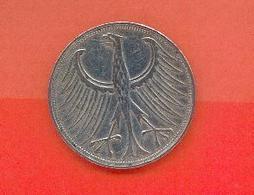 ALLEMAGNE - BUNDESREPUBLIEK : 5 MARK 1951 6 - [ 6] 1949-1990 : GDR - German Dem. Rep.