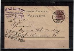 LBR26 - EMPIRE ALLEMAND ENTIER POSTAL CIRCULE - Deutschland