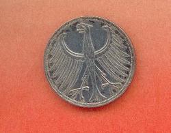 ALLEMAGNE - BUNDESREPUBLIEK : 5 MARK 1960 F - [ 6] 1949-1990 : GDR - German Dem. Rep.