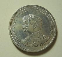 Portugal 200 Reis 1898 4º Centenário Da Descoberta Da Índia Silver - Portugal