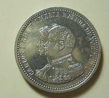 Portugal 500 Reis 1898 4º Centenário Da Descoberta Da Índia Silver - Portugal