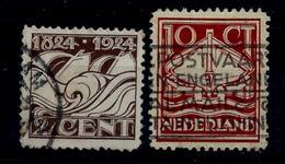 Nederland 1924: 100 Jaar Ned. Reddingsmaatschappij. Gebruikt (o) - 1891-1948 (Wilhelmine)