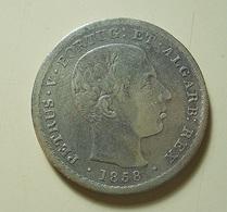 Portugal 500 Reis 1858 Silver - Portugal