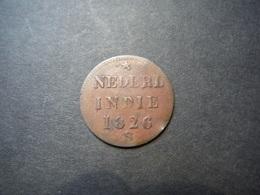 MO9    1/4 St Nederland Indie 1826 S - [ 4] Colonies