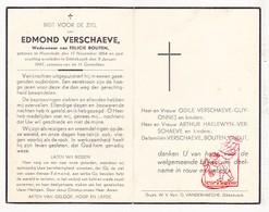 DP Edmond Verschaeve ° Moorslede 1864 † Dikkebus Ieper 1947 X F. Bouten / Guyonnet Haelewyn Cneut - Images Religieuses