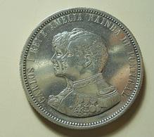 Portugal 1000 Reis 1898 4º Centenário Da Descoberta Da Índia Silver - Portugal