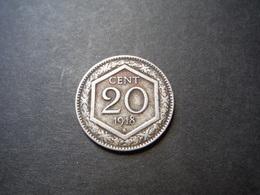 M10    20 Centisemi 1918 - Regno D'Italia - 1861-1946 : Kingdom