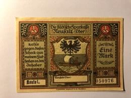 Allemagne Notgeld Allemagne Neusalz 1 Mark - Collections