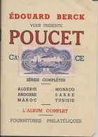 Mini Catalogue De Timbre Edouard Berck Poucet - France