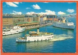 DK189, * KØBENHAVN * TURISTBÅDE Ved HAVNEGADE * STEAMER And FERRY * SENT 1963 - Danemark
