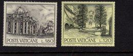 684613864 VATICAN 1976 POSTFRIS MINT NEVER HINGED POSTFRISCH EINWANDFREI SCOTT 601 606 ROMAN VIEUWS - Luxembourg
