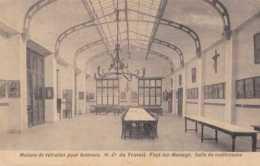 Fayt-lez-Manage - Maison De Retraite Pour Hommes - Salle De Conférence - Circulé En 1924 - TBE - Manage