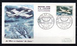 Avion 300f  MS 760   PA 35  // Premier Jour FDC   //  1959 - 1950-1959