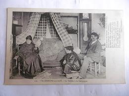 (47)-CPA ANIMEE-(LOT ET GARONNE)-VILLENEUVE/LOT-Veillée à La Campagne/1916 - Villeneuve Sur Lot