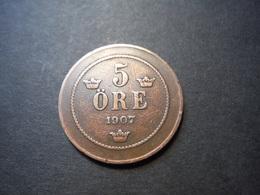 M15    5 Ore 1907 - Sveriges Val - Sweden