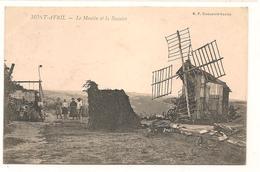Canton De Givry - Mont Avril - Moulin Ambulant  Et La Buvette -  CPA° - France