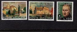 684614821 VATICAN 1975 POSTFRIS MINT NEVER HINGED POSTFRISCH EINWANDFREI SCOTT 585 587 ST PAUL OF THE CROSS - Luxembourg